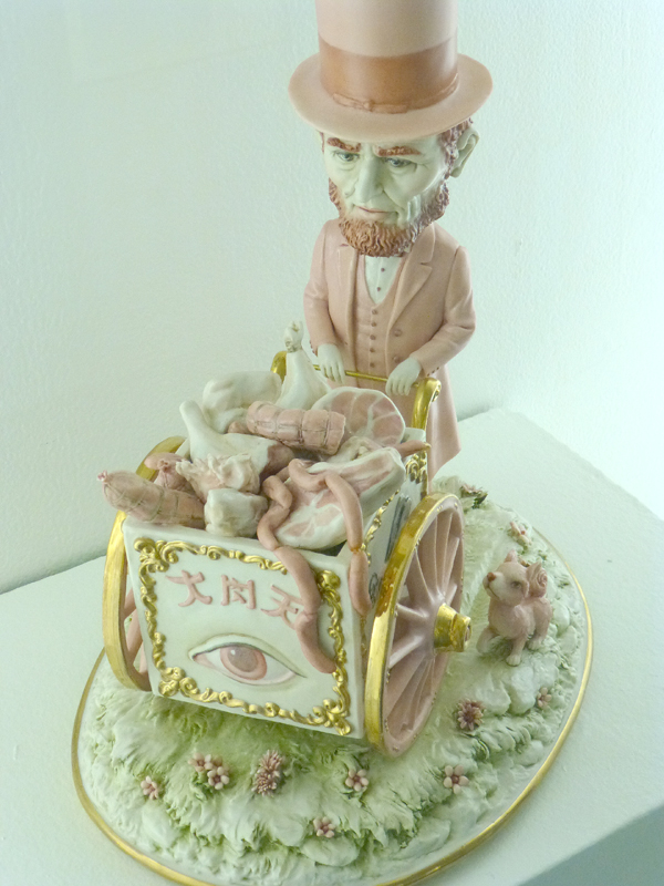 Mark Ryden, porcelain sculpture