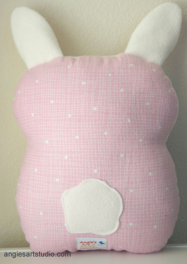 bunny pillow
