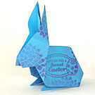 Origami Easter Bunny