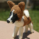 The Akita Dog Translated Into Crochet