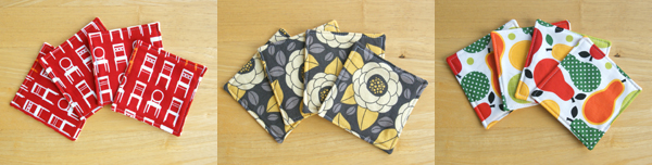 Designer Fabrics Coasters, Mug Rugs for sale