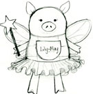 The Making of a Patchwork Fairy Pig