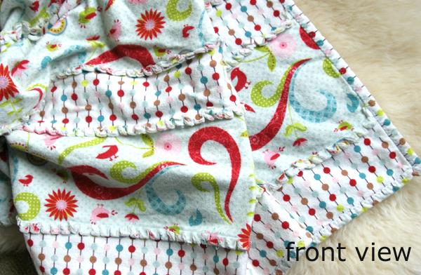 baby rag blanket