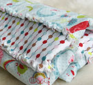 An Easy and Simple Way to Make a Baby Rag Blanket