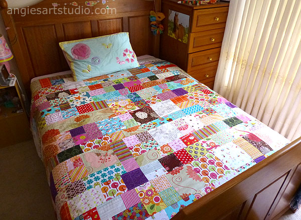 Patchwork Double Bedspread