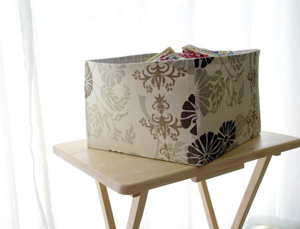 large fabric box