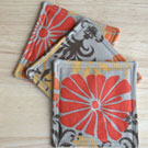 Fabric Coasters: A Quick and Easy Sewing Project