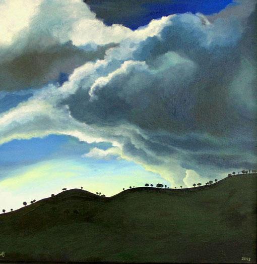 Storm Cloud, 2003 — Angie's Art Studio