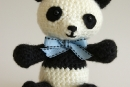 Pablo the Playful Panda - v4, amigurumi crochet