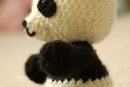 Pablo the Playful Panda - v3, amigurumi crochet