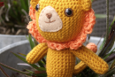 Leo the Lion, amigurumi crochet