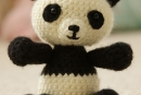 Pablo the Playful Panda, amigurumi crochet