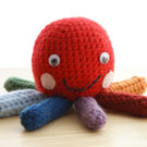 Rainbow Octopus Crochet