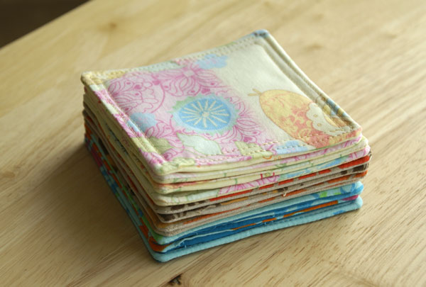 Fabric Coasters A Quick And Easy Sewing Project  Angie39s
