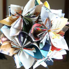 Recycle a Magazine into a Flower Globe