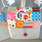 A Patchwork Art Bag for a Budding Young Artist