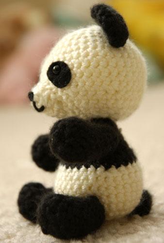 Free Crochet Panda Afghan Patterns : Panda Bear Amigurumi Crochet Pattern ? Free! ? Angies Art ...